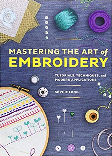 - This book is great because it has modern projects in it and also how to do all of the stitches.