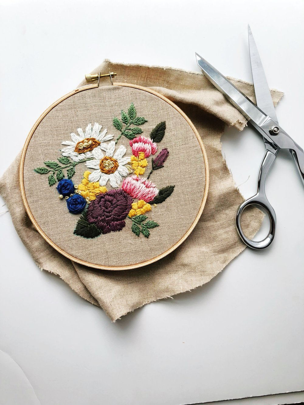 Embroidery Tutorials - DIYs and How Tos on the blog