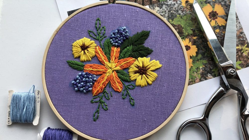 Take My Embroidery Class! -