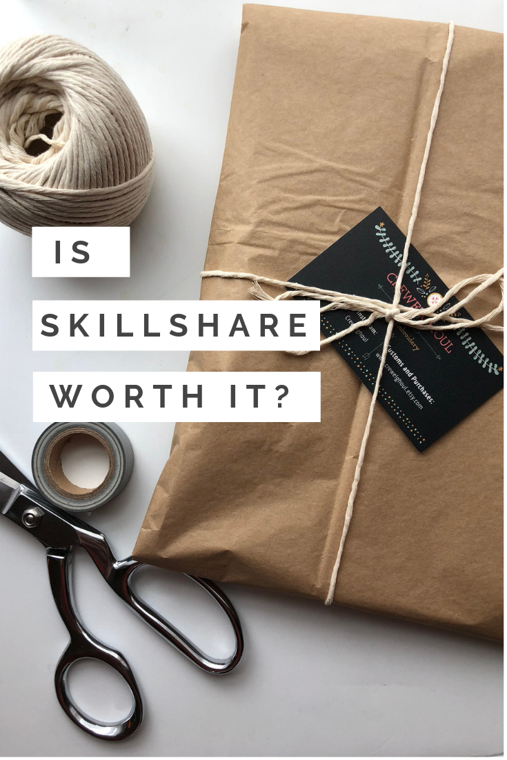 Is Skillshare Worth It? (Skillshare Review!) - Crewel Ghoul