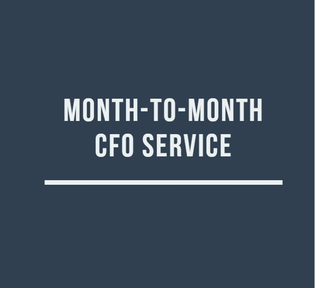 Month-to-Month CFO Services - Starting at $450