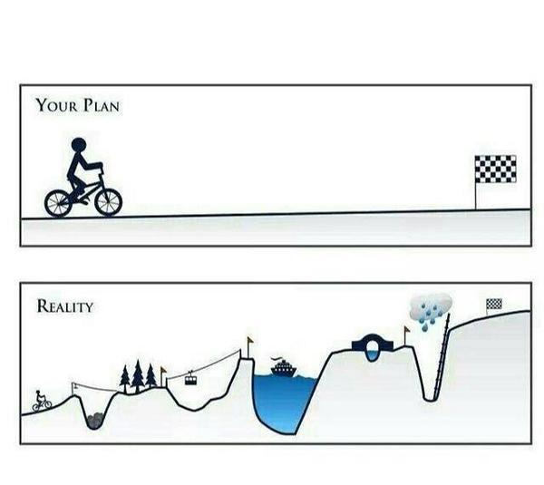 your plan vs reality