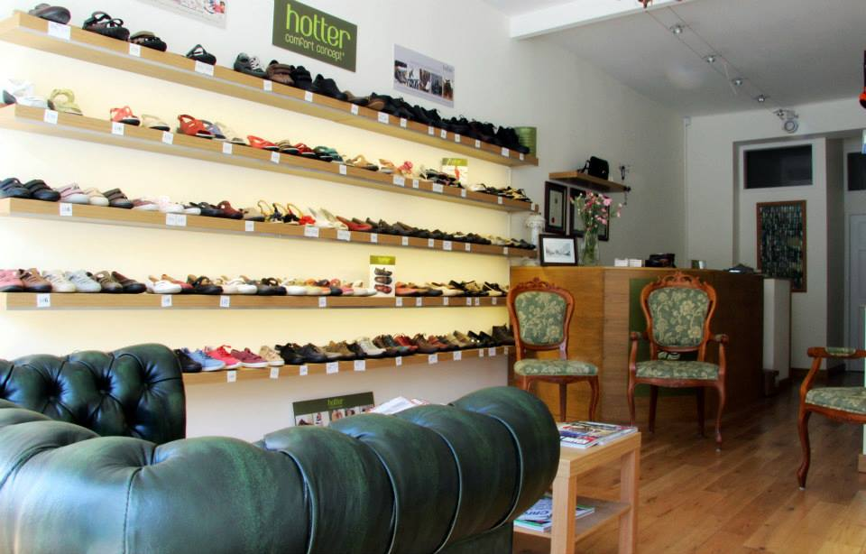 hotter shoe stockist