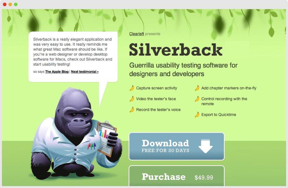 Silverback website