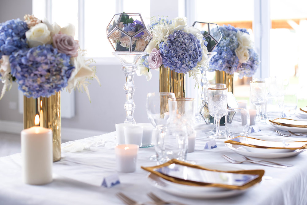 Wedding Table Styled Decorations