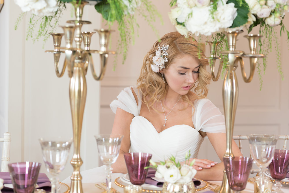 Royal Modern Wedding|Pink Lavender and Gold| Wren House, Royal Chelsea, London UK