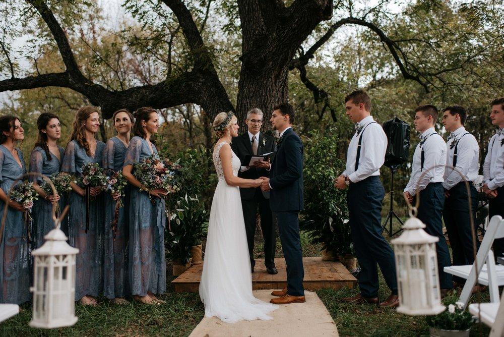 Maddi + Zach | October Wedding, Mildale Farm, Edgerton, Kansas