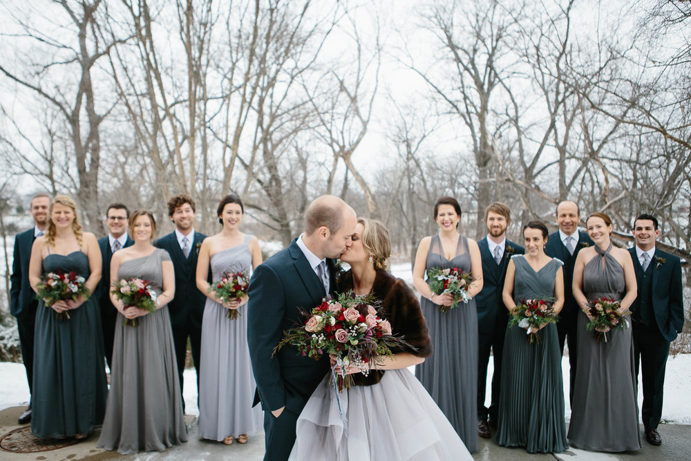 Sarah + Shane | Yellow House Flowers, florist, Kansas City, floral design