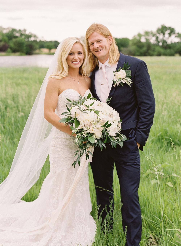 Anne + Walter — Elderslie Family Farm, Valley Center, Kansas