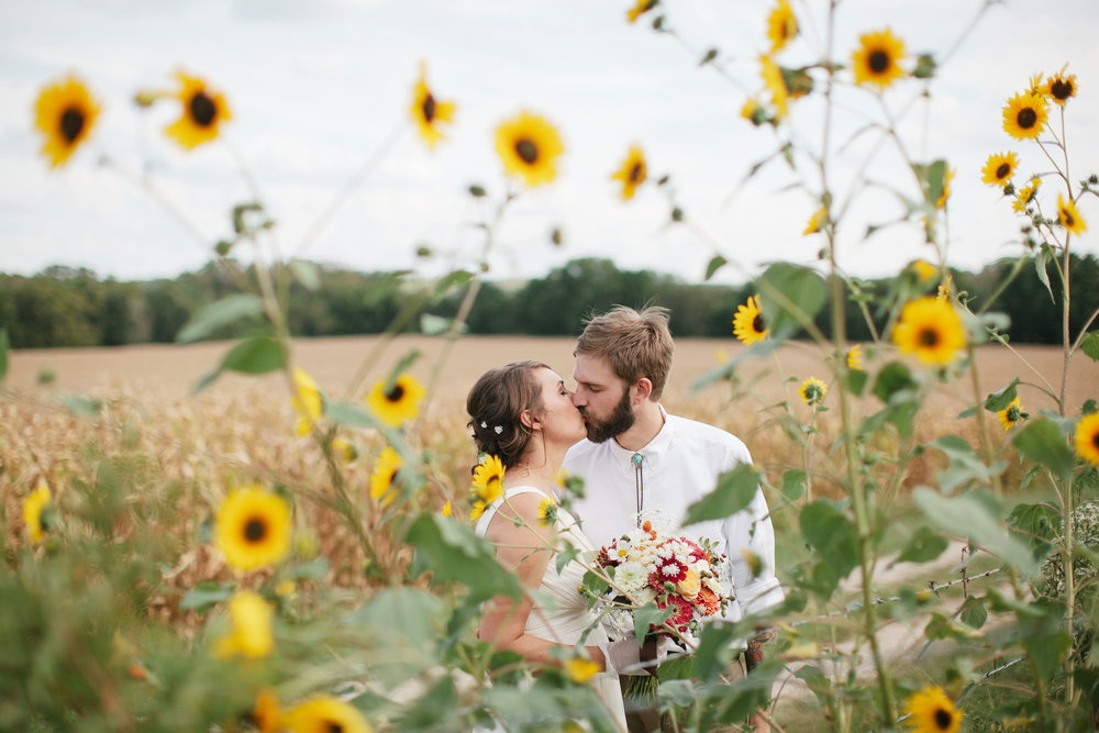 Elizabeth + Jake — Family Farm, Alma, Kansas