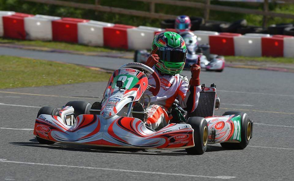 The youngest Junior X30 SuperOne round winner