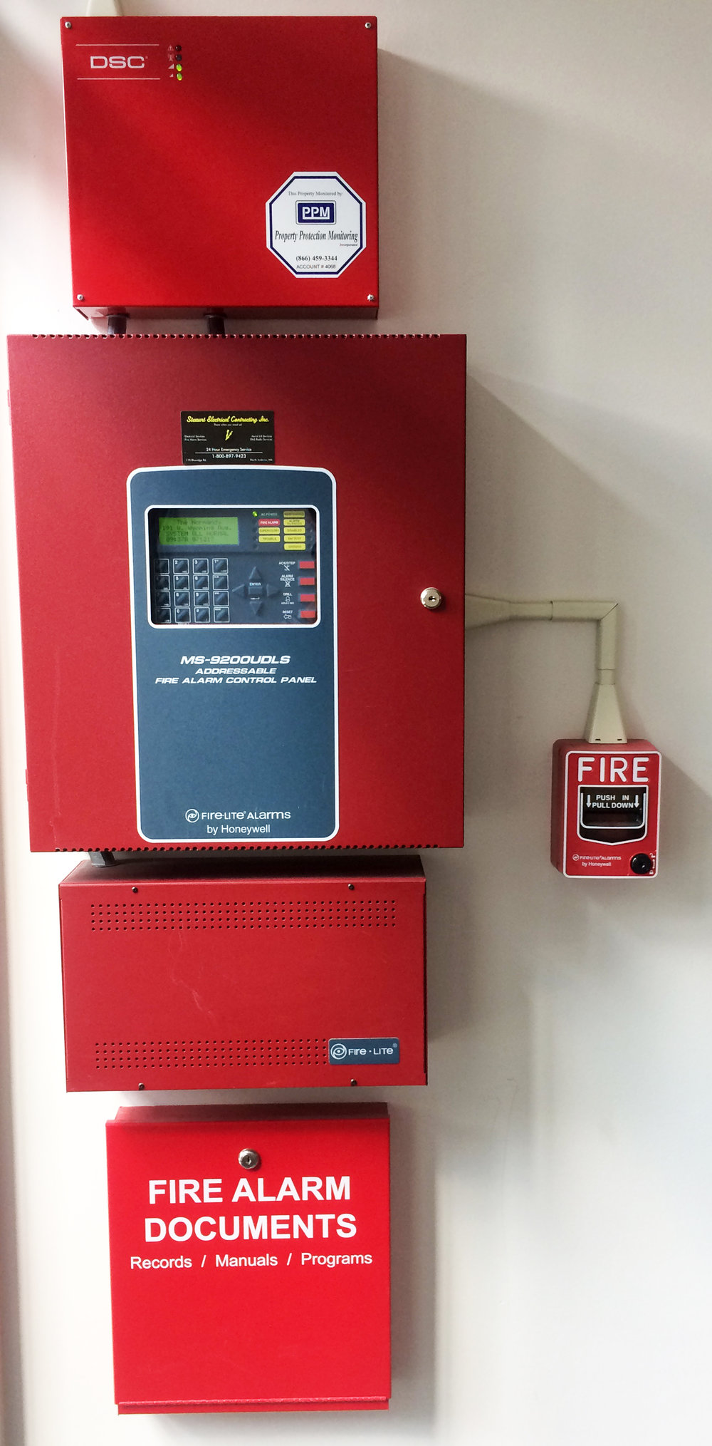 Fire Alarm Stewart Electrical Contracting Web 2