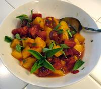Peach Tomato Salsa