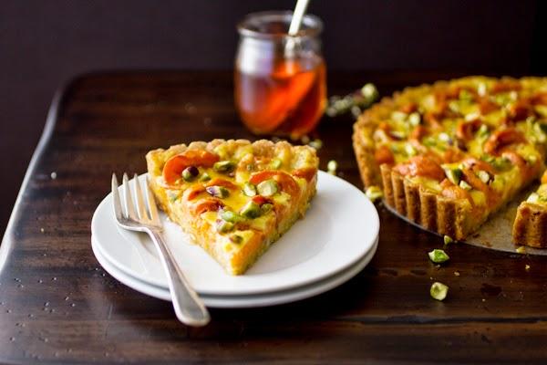 apricot creme fraiche tart-1-8