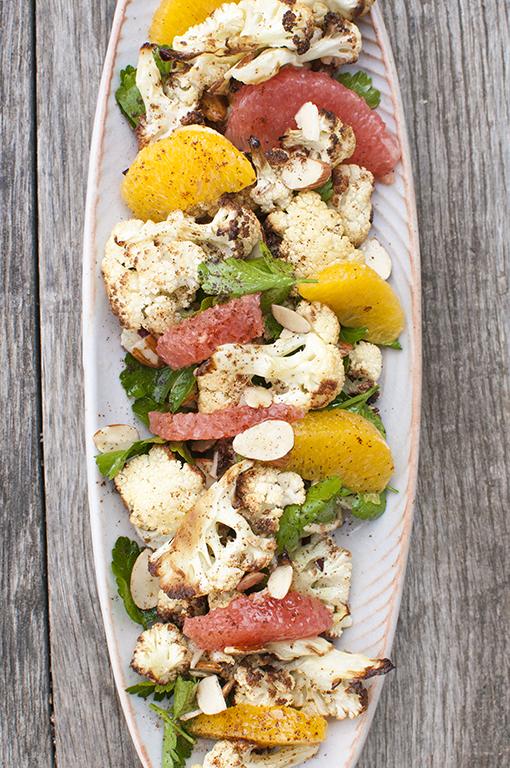 Roasted Cauliflower and Citrus Salad