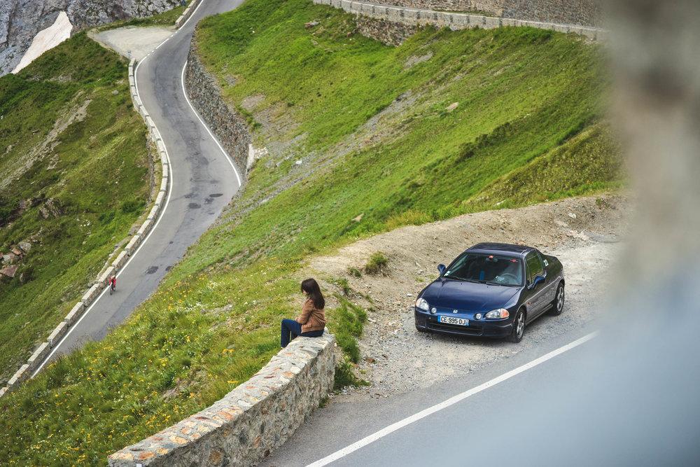 En 2014 elle nous a accompagné ma copilote de luxe et moi pour un roadtrip mémorable de plus de 3000 km en Italie du nord.