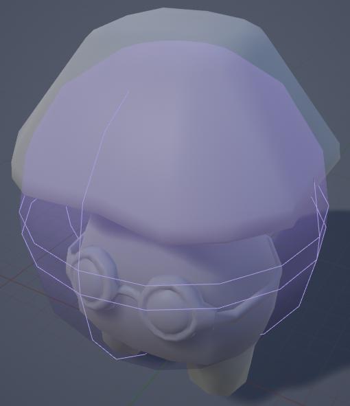 Fig 5 -  Temporary skeletal mesh physics body