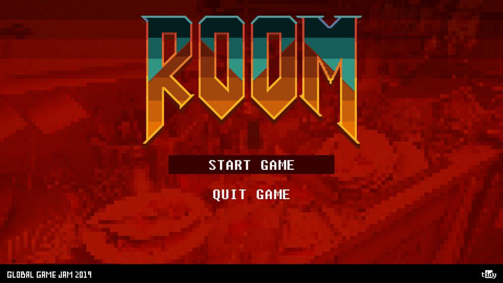 Fig 1 -  ROOM main menu