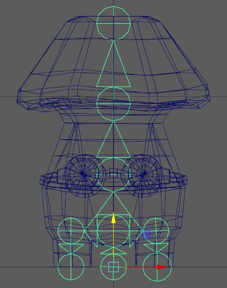 Fig 1 -  Boomshroom rig layout