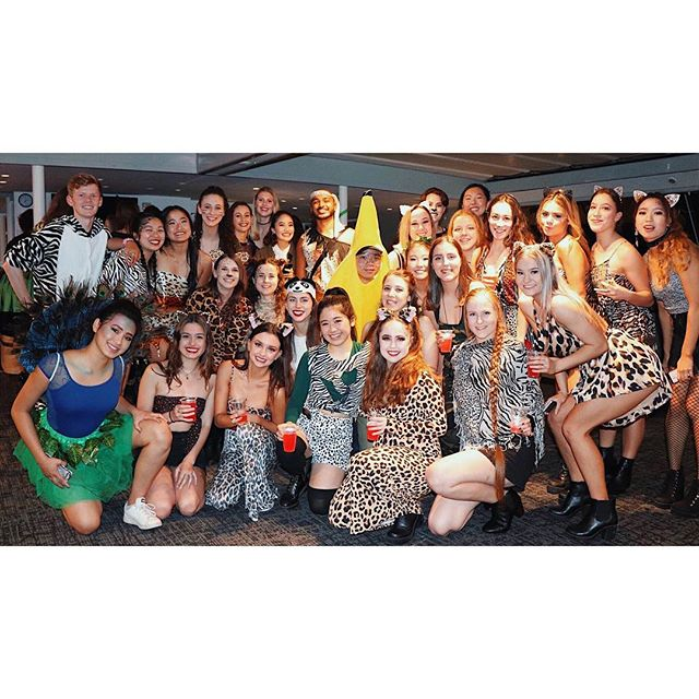 On the night of Thursday 13th September, the jungle animals came out to play on Sydney Harbour... We hope you all had the best time at the inaugural Performing Arts Societies Cruise! 🐯🦁🐵🍌🐅🐆🦓