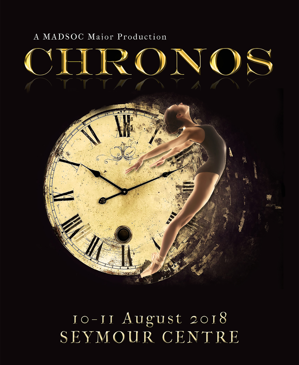 CHRONOS - CHRONOS is an exploration of time. But what is time? Time is infinite but fleeting, constant but unpredictable; it is irretrievable but must be captured. In essence, time is a complex concept and impossible to define. CHRONOS seeks to grapple with the many different facets of time and how humans interact with these through a myriad of dance styles. From ageing to tempo, time perception to nostalgia, each and every second promises to captivate and inspire.Director: Sumire AntonioliProducer: Tina Wu