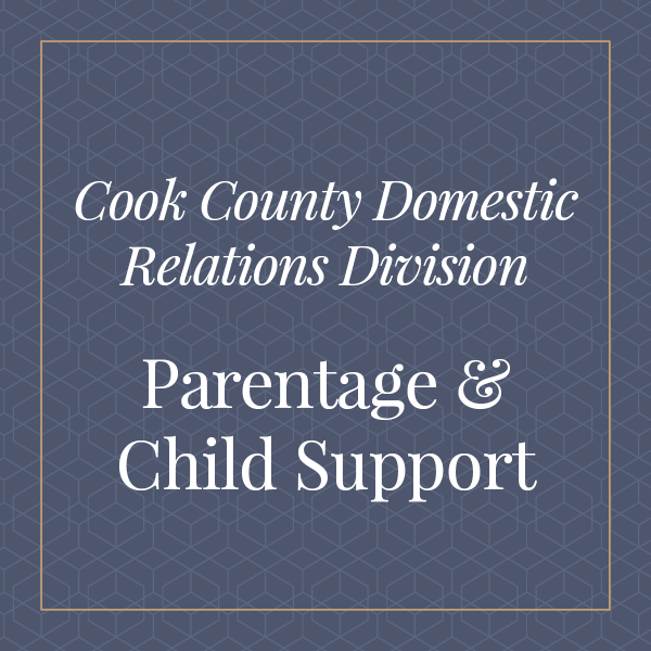 Cook County Domestic Relations Division, Parentage and Child Support