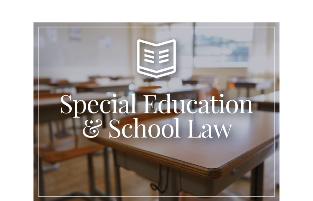 David Saxe Law Special Education and School Law Attorney