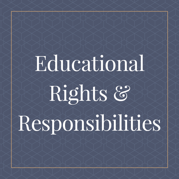 Educational Rights and Responsibilities