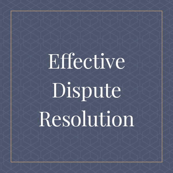 Effective Dispute Resolutions in Special Education and School Law