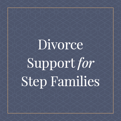 Divorce Support for Step Families