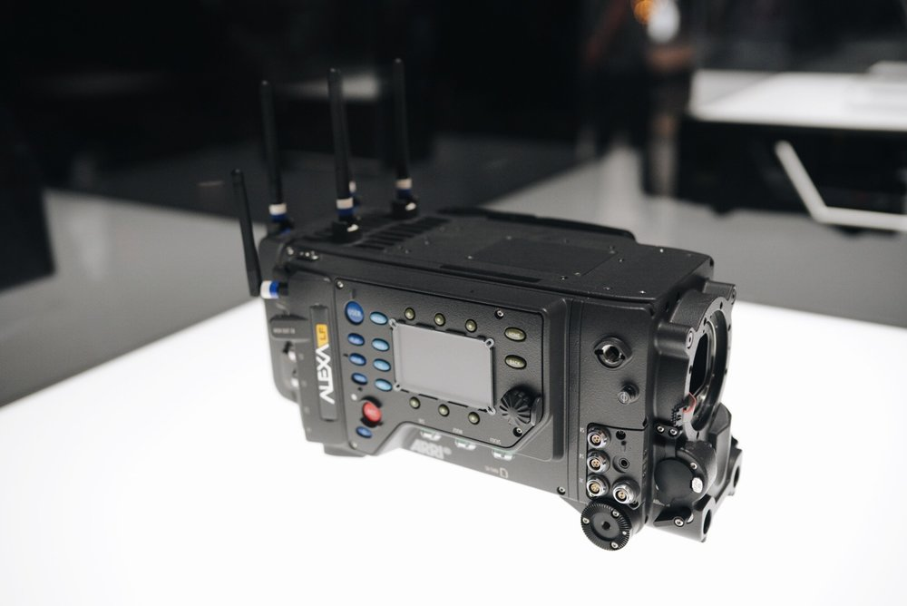 Arri Alexa LF  features a sensor slightly larger than full frame which records native 4.5K with ARRI's best overall image quality.