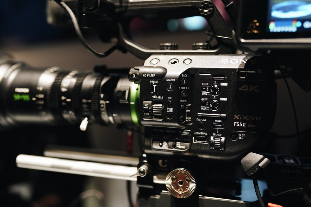 Sony FS5 Mark ii , now with Variable ND.