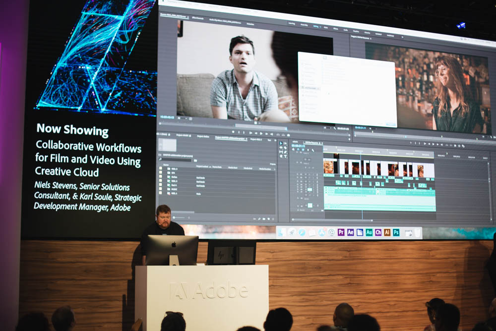 Adobe's booth never disappoints. This year they had some stellar presentations.