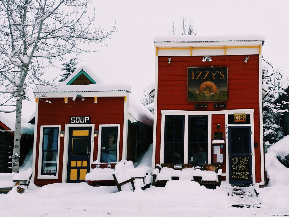 Izzy's Restaurant in downtown Crested Butte