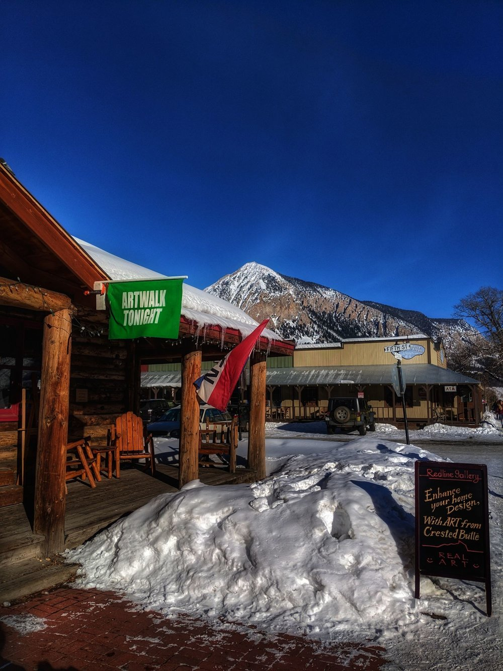 Free Art Walks monthly in Crested Butte, CO