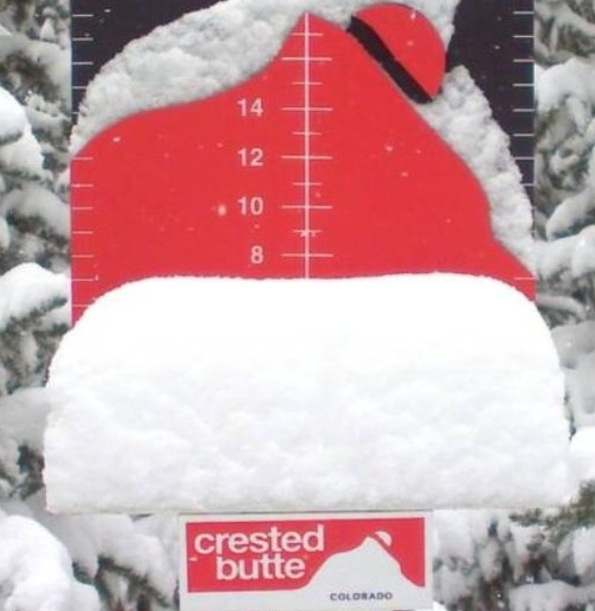 """Crested Butte has gotten over 193"""" of snowfall this season!"""