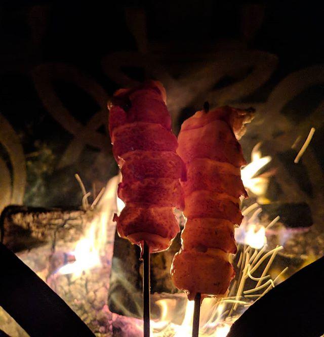 East coast campfire.