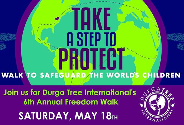 Take a step with us anywhere in the world! Register now for this years walk - we need your help! http://Www.durgatreeinternational.org/walk #bethechange #protectourchildren #humantrafficking #endslavery #freedom #walkathon #fundraiser loveinaction #durgatree #onehumanfamily #helpothers #internationalwomensday #empwerwomen #empowergirls