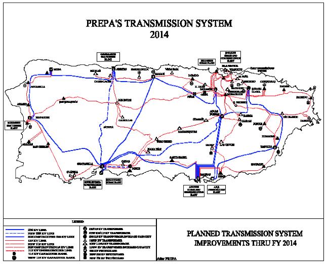 Copy of Copy of Prepa's Transmission System