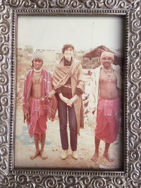 With Shaman in India 1978