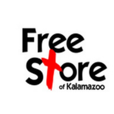 "FREE STORE OF KALAMAZOO  A Free Store is a place where ALL people are welcome and ALL items are available completely FREE of charge.  The  Free Store of Kalamazoo will redistribute clothing and household goods donated  by  the community  to  the community for FREE.  However, it is our expectation that this store will not be just a place to acquire ""stuff,"" but also a place where relationships will be formed – a place where individuals can come to know and be known so that we can continue in ministry together.  Donated items will be made available to all individuals, regardless of their perceived level of need.  The Kalamazoo Free Store is open for shopping every Tuesday, from 6:00 pm. to 8:00 pm! Doors close at 7:30 pm. he Free Store will be CLOSED whenever the Kalamazoo Public Schools are closed due to weather or disaster situations.  For the most up-to-date hours and information go to the Free Store of Kalamazoo's  Facebook    Join the Team!   Volunteers are needed to help sort weekly on Tuesdays 5 to 8:30 pm and Thursdays from 5 pm. to 6:30 pm. We also need your help during store hours. Training is available. Email  here  to volunteer.   How Can YOU Help?  - Pray for the Free Store and its community, Donate clothing and household items, Give a financial gift, Donate a non-cash gift through Midwest Business Exchange, Sort items and set up displays, Bake cookies for Free Store guests, Donate coffee and coffee supplies, Serve as a clerk at the front desk, Assist with marketing, Share the story of the Free Store"