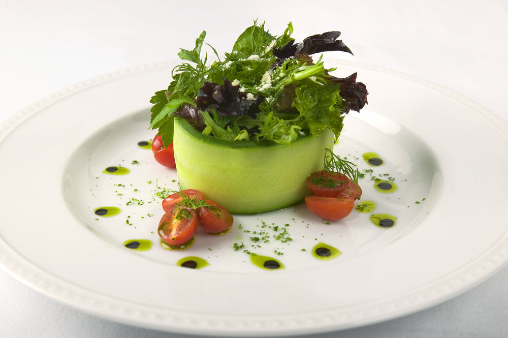 Cucumber Ring Salad
