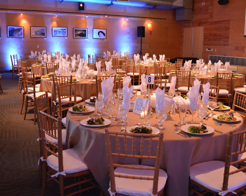 Layout - Our floor plans and layouts ensure the right atmosphere, flow and function for your event space.