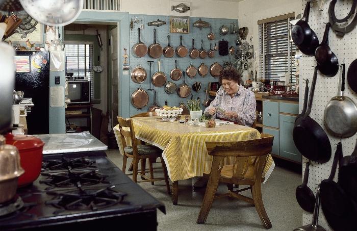 Julia's original kitchen, now in the Smithsonian. Image credit: Jim Scherer.