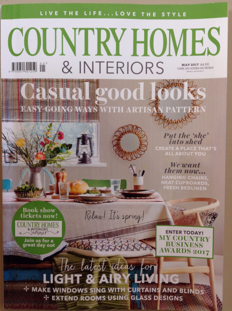country homes and interiors product recommendations