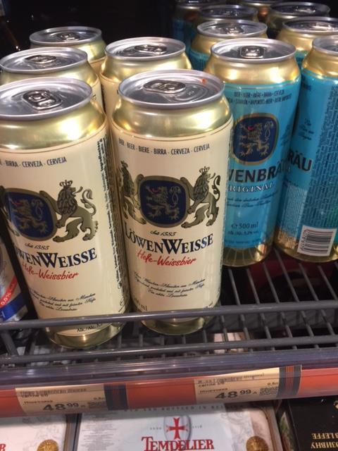 Tonight, Tonight, - let it be Lowenbrau!