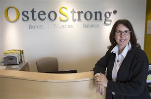 Diane Mulloy  owns three franchise locations of OsteoStrong, which she claims is the fastest growing franchise in the state.  -- Michelle Morrow | The Ledger