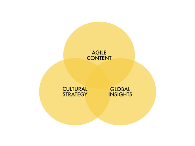 OUR DNA - Translating cultural blur into business opportunity through global insights, cultural strategy and agile content.