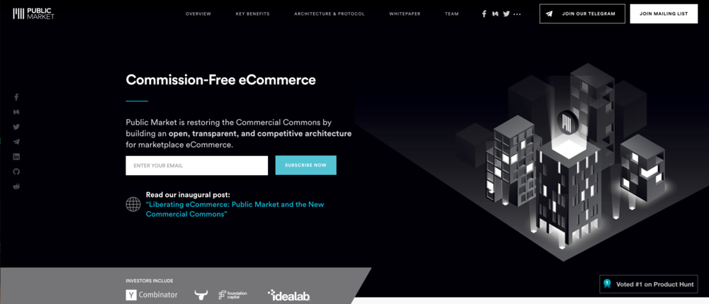 Using Blockchain to Disrupt eCommerce - Using foundational blockchain technology and tokenized currency systems we are able to decentralize and secure transactions and provide the most competitive market pricing available.