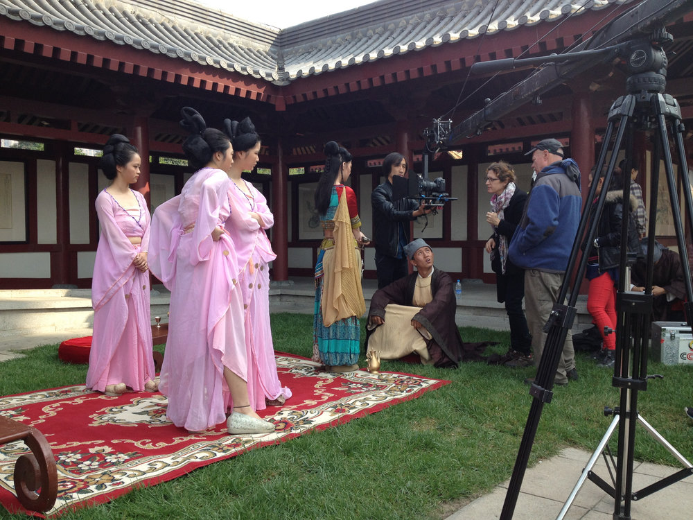 Sigal directs talent in Xian, China